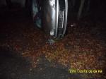 Wypadek samochodu osobowego we Włostowie
