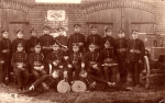 Straż pożarna z Jezior Wielkich - 1924r.